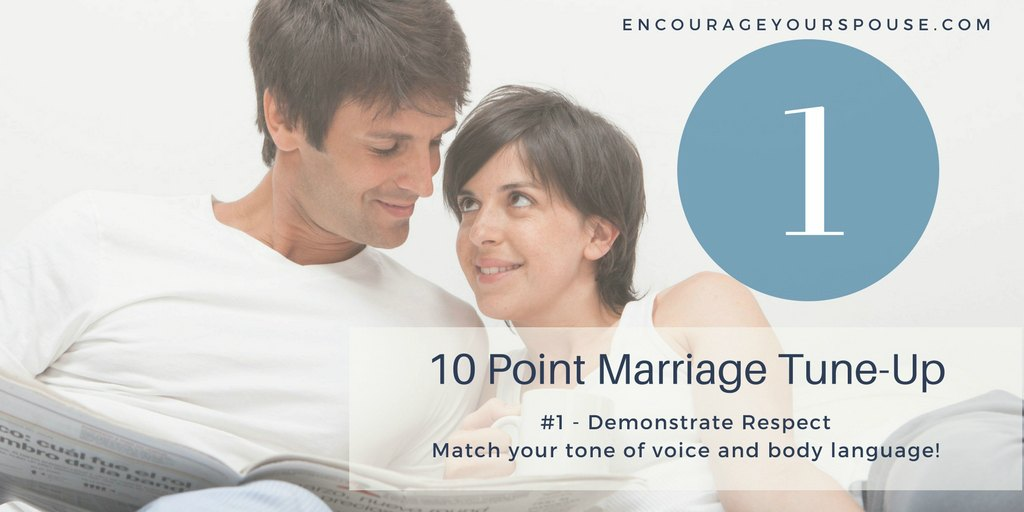 Showing you Value your Spouse – #1 of 10 – Respect