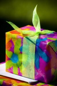 vibrant gift