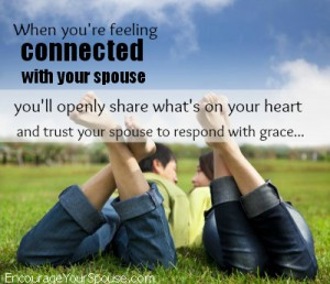 Feel connected and share what is on your heart