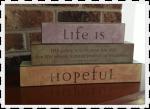 life is hopeful