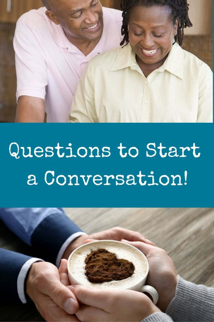 Maybe you're not a natural conversationalist? Here are some questions to start a conversation - it's a resource compilation of fun questions and deep questions from lots of sources