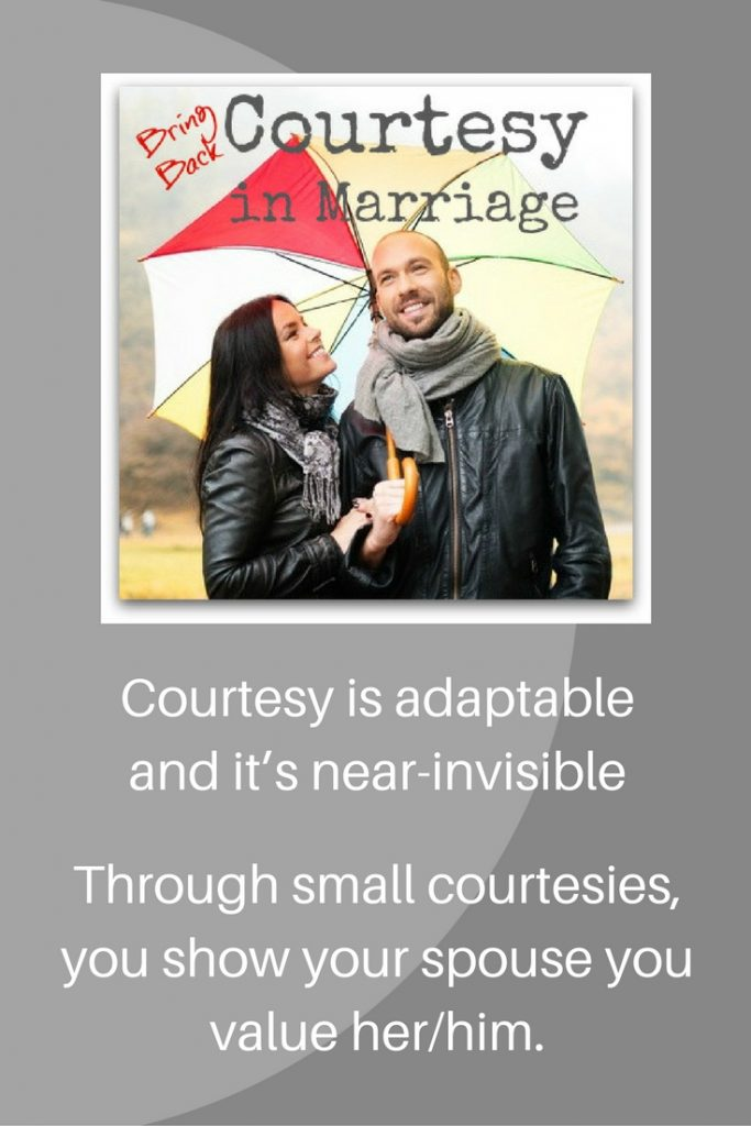 courtesy in marriage
