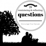 29 reminiscing and reflecting questions title page
