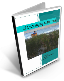 book cover 27 encouraging activities