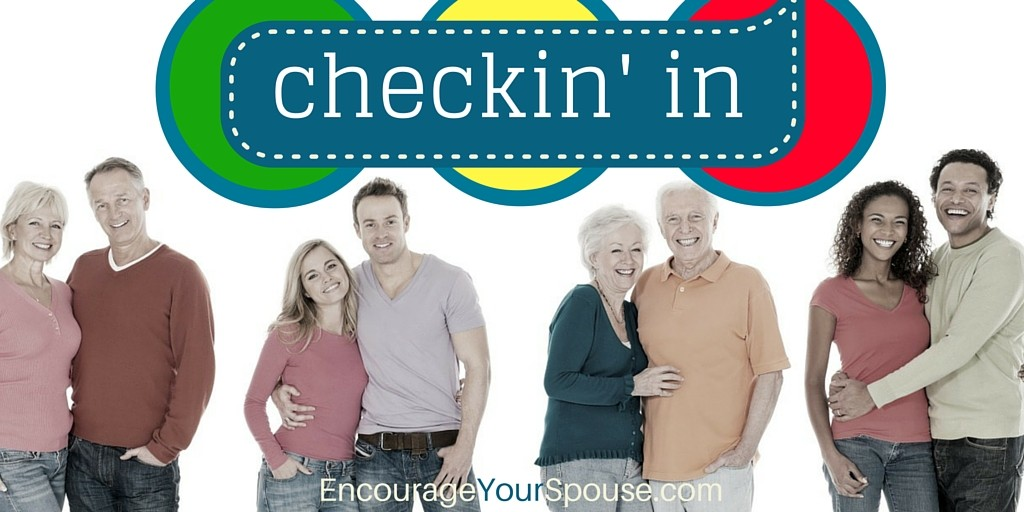 Check In With Each Other - Pray for What is Important