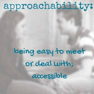 approachable in marriage the value of approachability