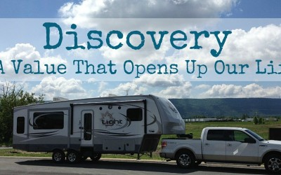 Discovery – A Value That Opens Up Our Life
