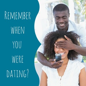 Remember when you were dating - add some playfulness in marriage