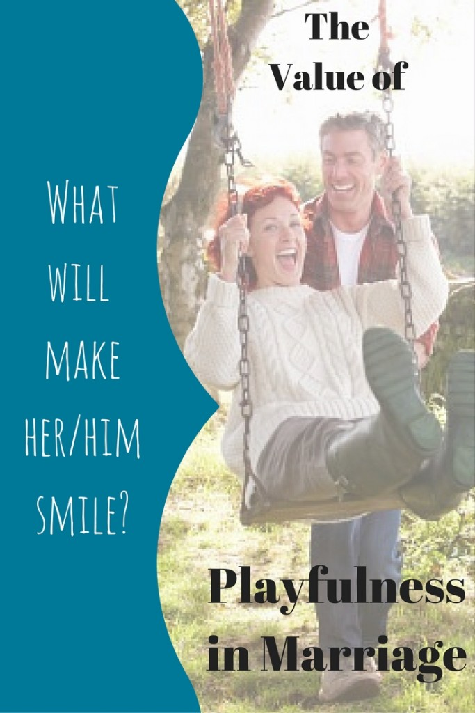 Playfulness adds fun to marriage