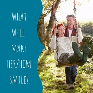 what will mer her or him smile - add some playfulness