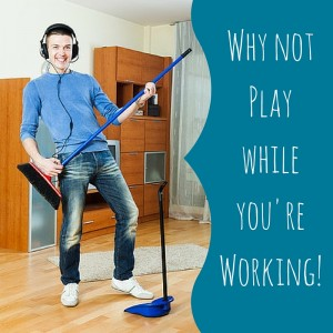 playfulness in marriage - why not play while you're working