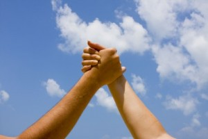 hands high solidarity