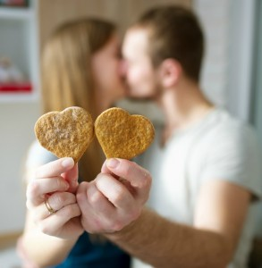 couple cookies heart enrich and encourage