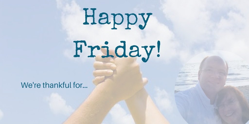 Happy Friday – Start a new tradition!