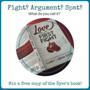 fight arguement spat - what do you call it?