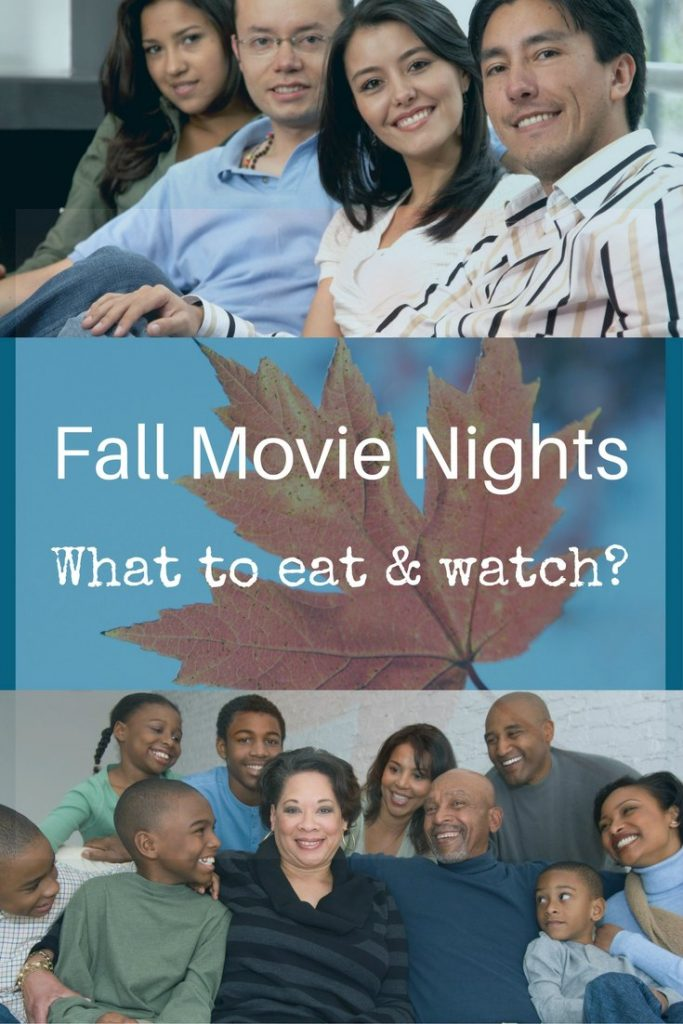 planning what to eat and watch for fall movie nights