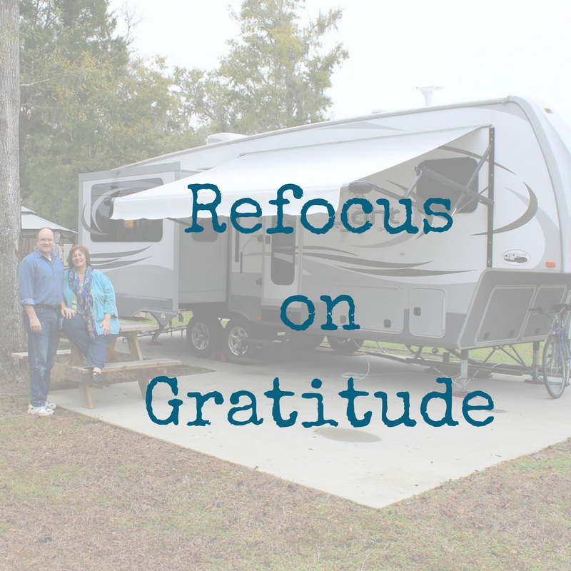 Refocus on Gratitude
