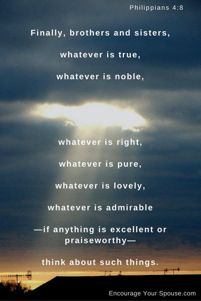 happy friday - think about those things which are true, noble, right, pure, lovely and admirable - share them!