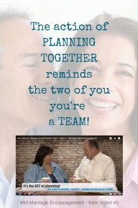 The action of PLANNING together reminds the two of you you're a TEAM! PIN (1) (1)