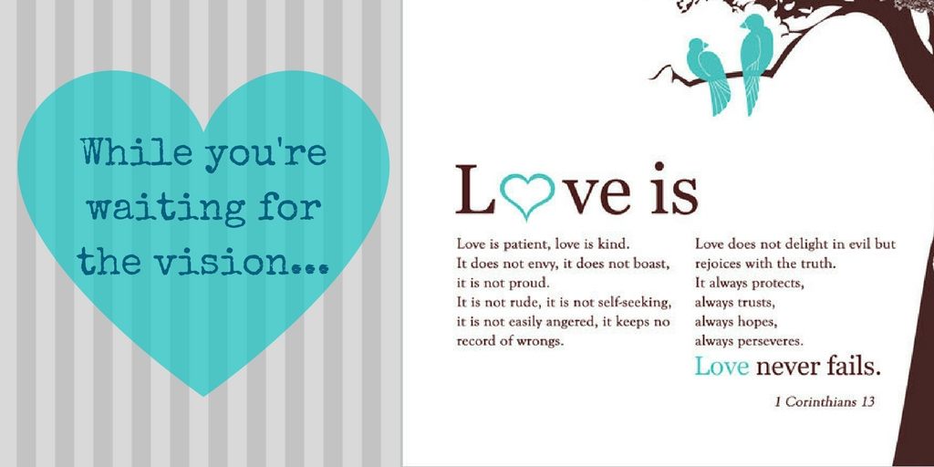 While You're Both Waiting – Love
