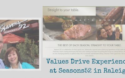 Values Drive Experiences at Seasons52 in Raleigh