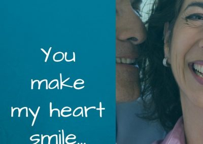 you make my heart smile - encourage your spouse