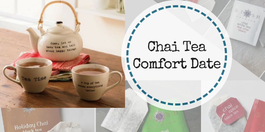Chai Tea Comfort Date for you and your spouse - it is like Christmas in a cup
