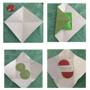 Easy and simple gifts - how to make a surprise tea envelope